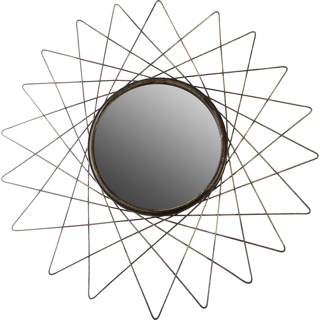 Myflair Möbel & Accessoires Spiegel, goldf.,Durchm.60 cm