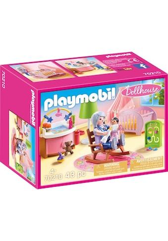 Playmobil® Konstruktions-Spielset »Babyzimmer (70210), Dollhouse«, (43 St.), Made in... kaufen