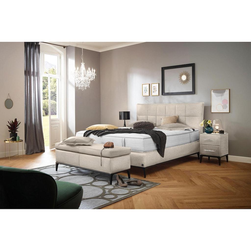 ADA premium Nachtkonsole »Smart Elegance«, mit Soft-Close-Funktion, inkl. Glasplatte