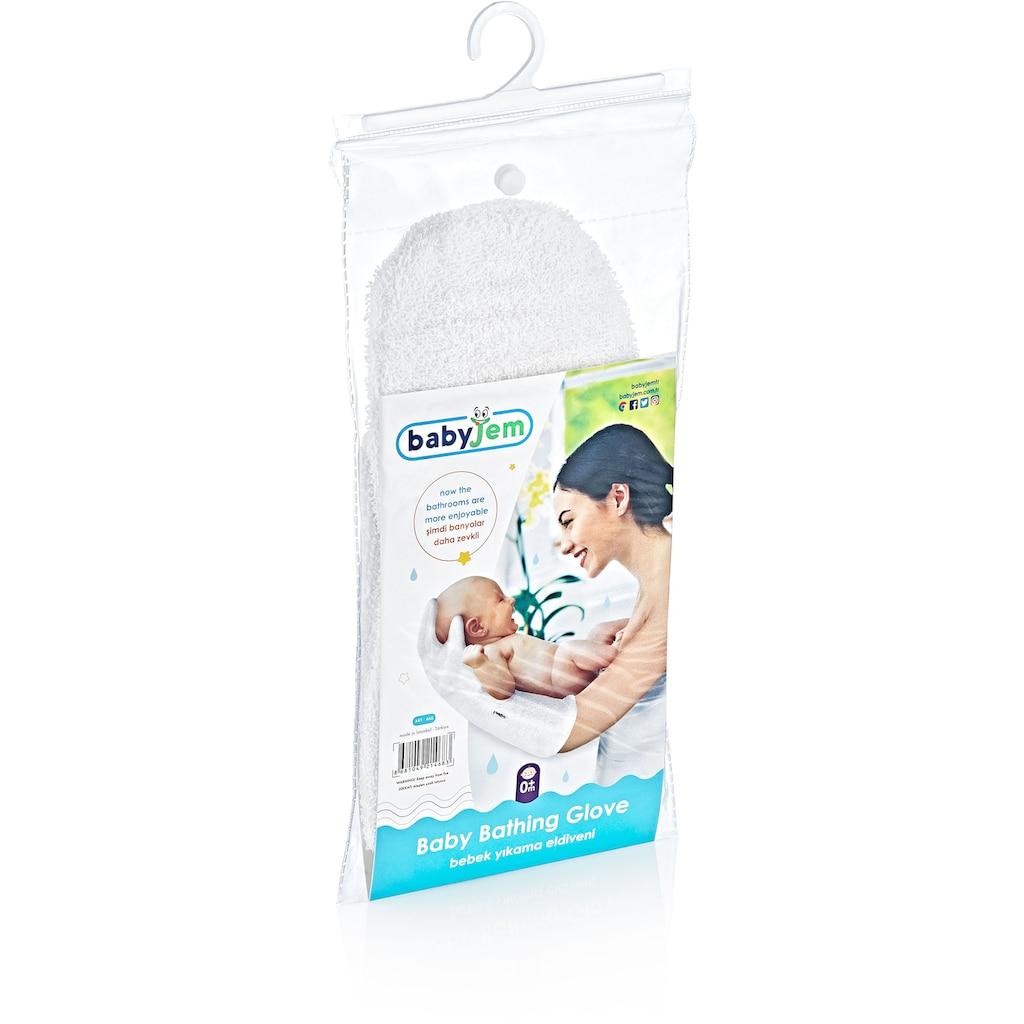 Babyjem Waschhandschuh »Baby-Badehandschuh«, (1 tlg.), Made in Europe