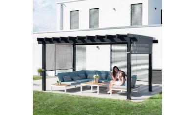 Sojag Pavillon »Yamba 10x16 anthrazit«, BxTxH: 495x295x253 cm kaufen