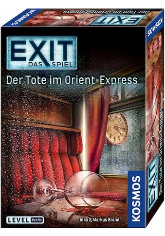 Kosmos Spiel »Exit, Der Tote im Orient-Express«, Made in Germany kaufen