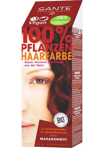 SANTE Haarfarbe »Pflanzenhaarfarbe mahagonirot« kaufen