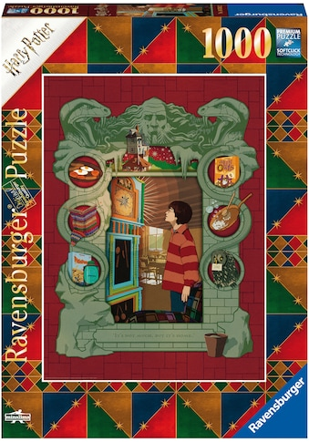 Ravensburger Puzzle »Harry Potter bei der Weasley Familie«, Made in Germany, FSC® -... kaufen