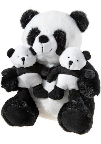 Heunec® Kuscheltier »Panda mit Zwillingen, 26 cm« kaufen