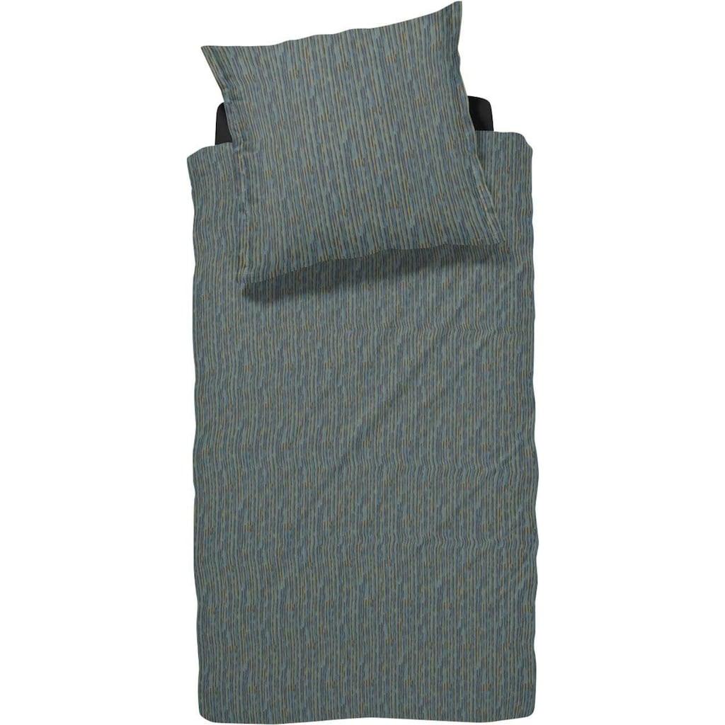 damai Bettwäsche »FLÖDE«, mit unregelmäßigen Streifen