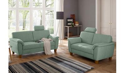 Home affaire Polstergarnitur »Alta«, als Set, mit Federkern und Kontrastnaht kaufen