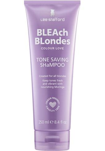 Lee Stafford Haarshampoo »Bleach Blonde Colour Love Tone Saving Shampoo« kaufen