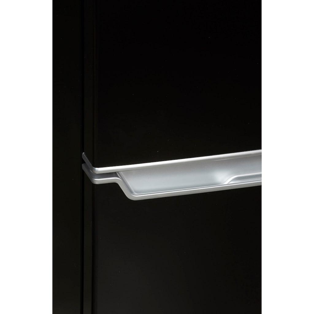 Hanseatic Kühl-/Gefrierkombination, HKGK14349DB, 143 cm hoch, 49,5 cm breit