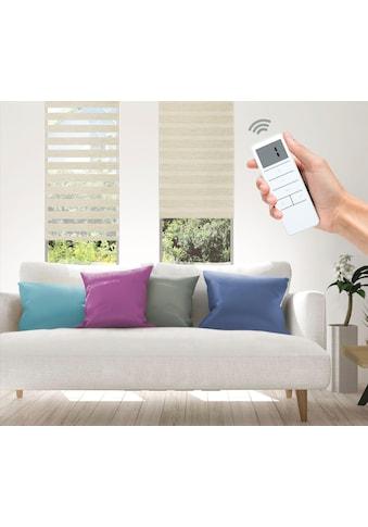 Elektrisches Rollo »Wood  -  SMART HOME«, Good Life, Lichtschutz, ohne Bohren kaufen