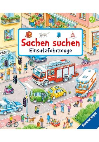 Buch »Sachen suchen: Einsatzfahrzeuge / Susanne Gernhäuser, Stefan Seidel« kaufen