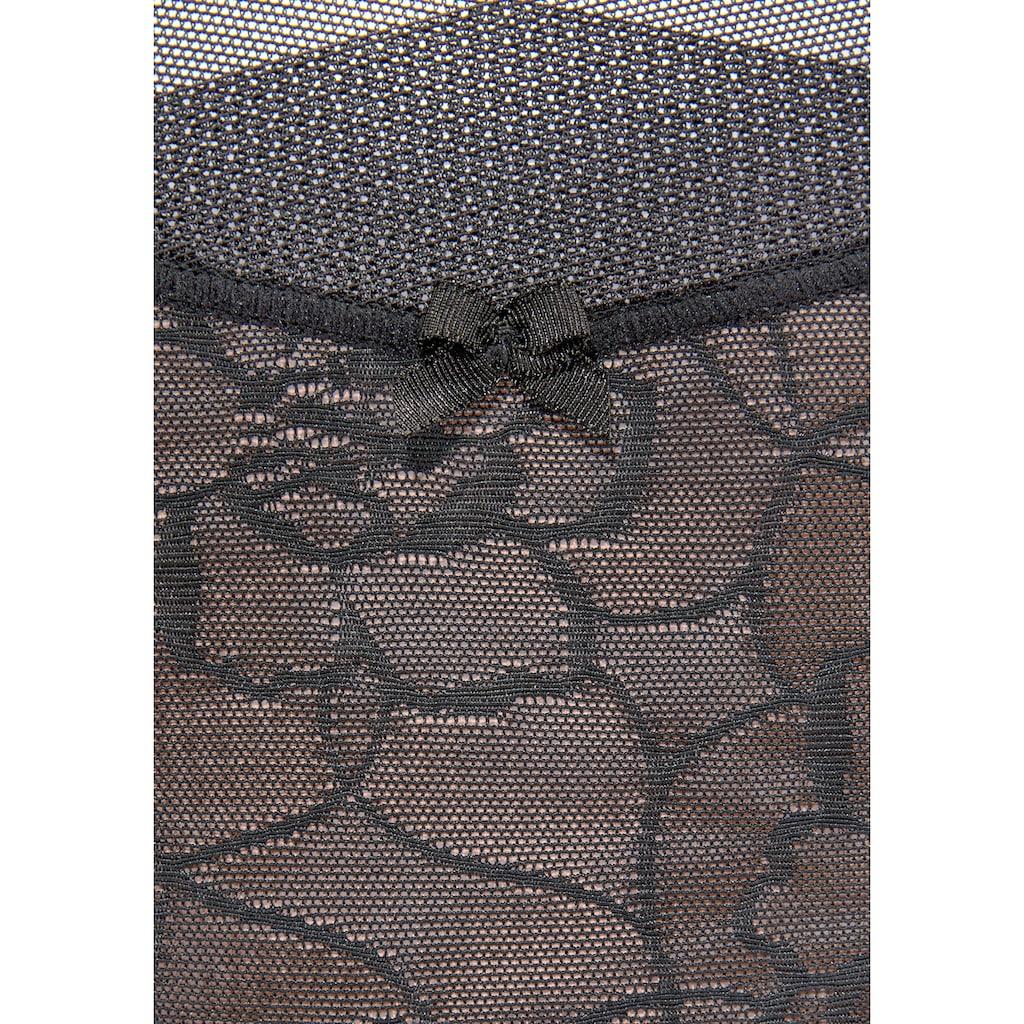 LASCANA Taillenslip, mit extraflachem Abschluss an der Taille