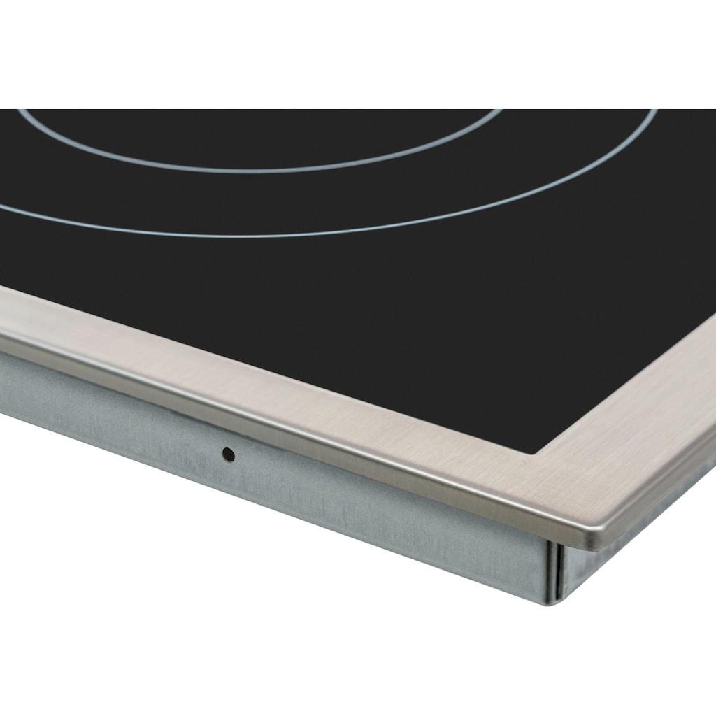 Samsung Elektro-Herd-Set »F-NB69R2350RS«, NB69R2350RS, mit 1-fach-Teleskopauszug, katalytische Reinigung, mit Restwärmeanzeige