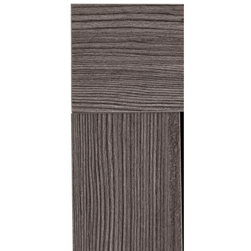 trendteam Waschbeckenunterschrank »Miami«, mit Rahmenoptik in Holztönen, Höhe 56 cm