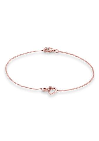 Elli Armband »Herzen Verschlungen Lovely 925 Silber« kaufen