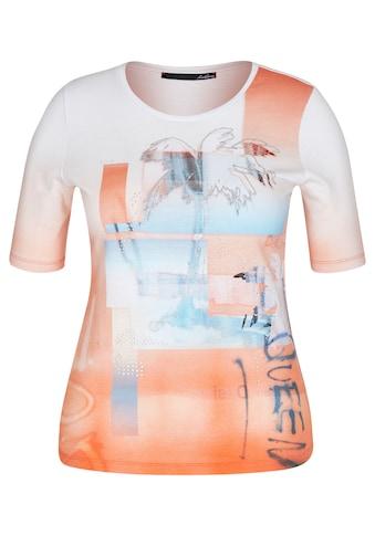 LeComte T-Shirt, mit Front-Print und Glitzerdetails kaufen