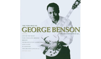 Musik-CD »Greatest Hits Of All,The / Benson,George« kaufen