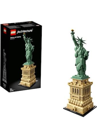LEGO® Konstruktionsspielsteine »Freiheitsstatue (21042), LEGO® Architecture«, (1685 St.), Made in Europe kaufen