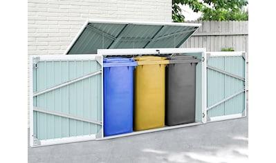 KONIFERA Mülltonnenbox »Tobi 3«, für 3x240 l, BxTxH: 233x101x134 cm kaufen