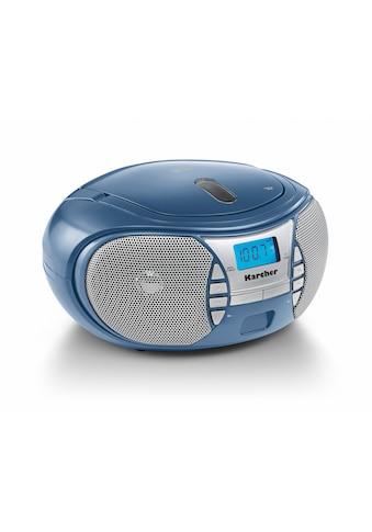 Karcher CD-Radiorecorder »RR 5025-C«, (CD 2.2 W) kaufen