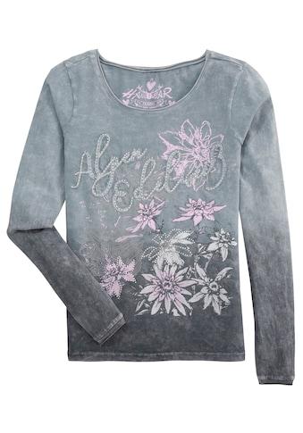 Hangowear Trachtenshirt »Carolin«, mit Strasssteinen kaufen