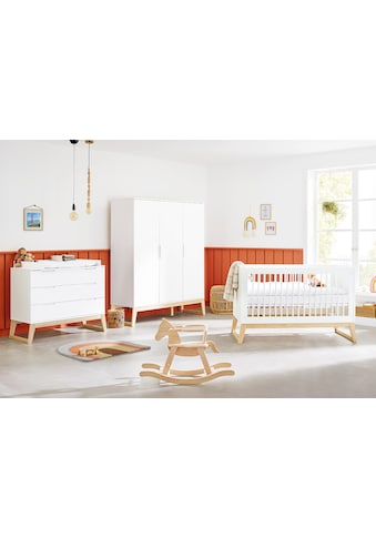 Pinolino® Babyzimmer-Komplettset »Bridge«, (Set, 3 St.), breit, groß; mit Kinderbett,... kaufen