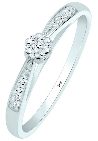 Elli DIAMONDS Verlobungsring »0604960414«, mit funkelnden Brillanten kaufen