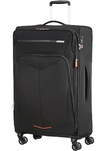 American Tourister® Weichgepäck-Trolley »Summerfunk, 79 cm, black«, 4 Rollen kaufen