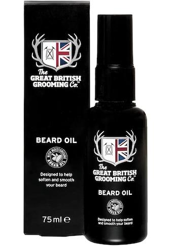 The Great British Grooming Co. Bartöl »Beard Oil« kaufen