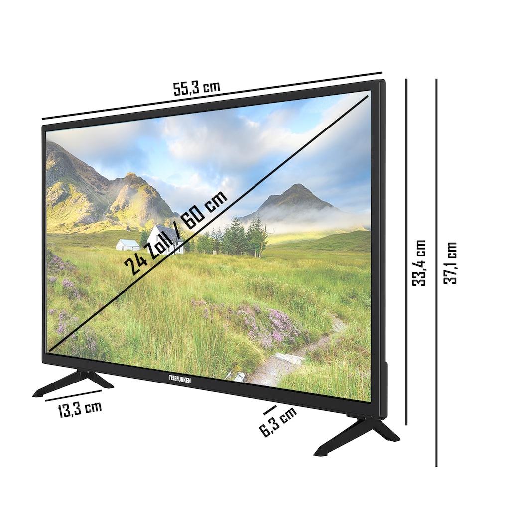 "Telefunken LED-Fernseher »XH24J101«, 60 cm/24 "", HD-ready"