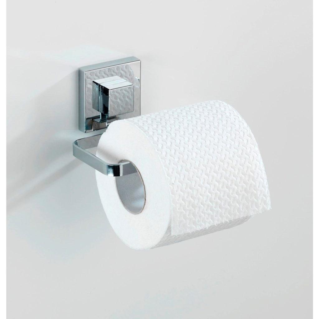 WENKO Toilettenpapierhalter »Quadro«, Vacuum-Loc