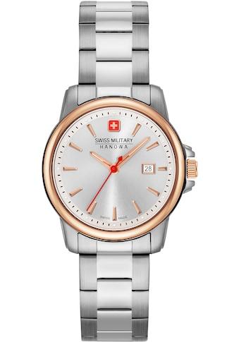 Swiss Military Hanowa Schweizer Uhr »SWISS RECRUIT LADY II, 06-7230.7.12.001« kaufen