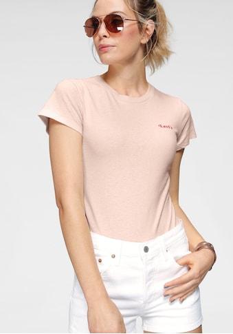 Levi's® Shirtbody »Graphic Tee Bodysuit«, mit kleinem Schritzug auf der Brust kaufen