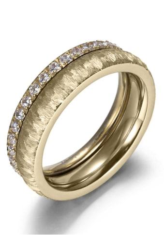 Firetti Ring-Set »2,0 mm, 4,0 mm, glänzend, matt, gekratzt, strukturiert,... kaufen