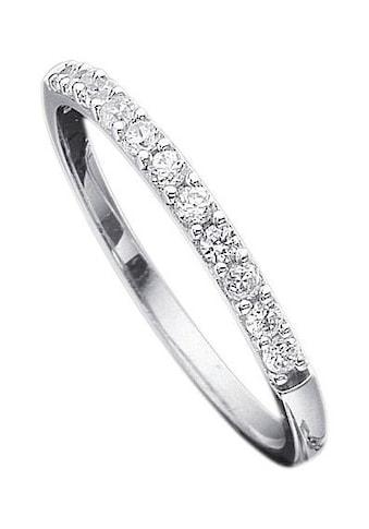 Firetti Verlobungsring »Vorsteckring, Weißgold, 2,5 mm breit«, mit Diamanten kaufen