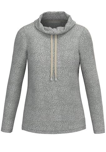 bianca Langarmshirt »JULIE«, im Minimalmuster mit stylischen Details kaufen