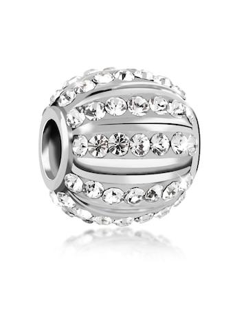 Nenalina Charm-Einhänger »Kugel Bead Kristalle 925 Silber« kaufen