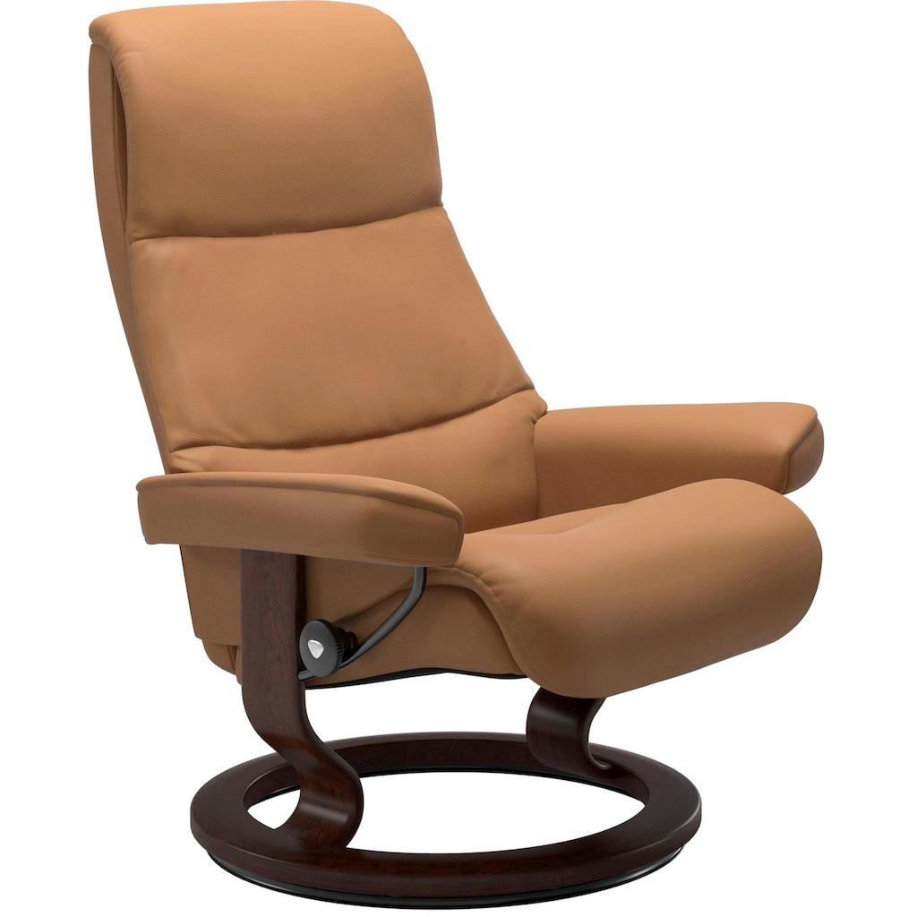 Stressless® Relaxsessel »View«, mit Classic Base, Größe M,Gestell Braun