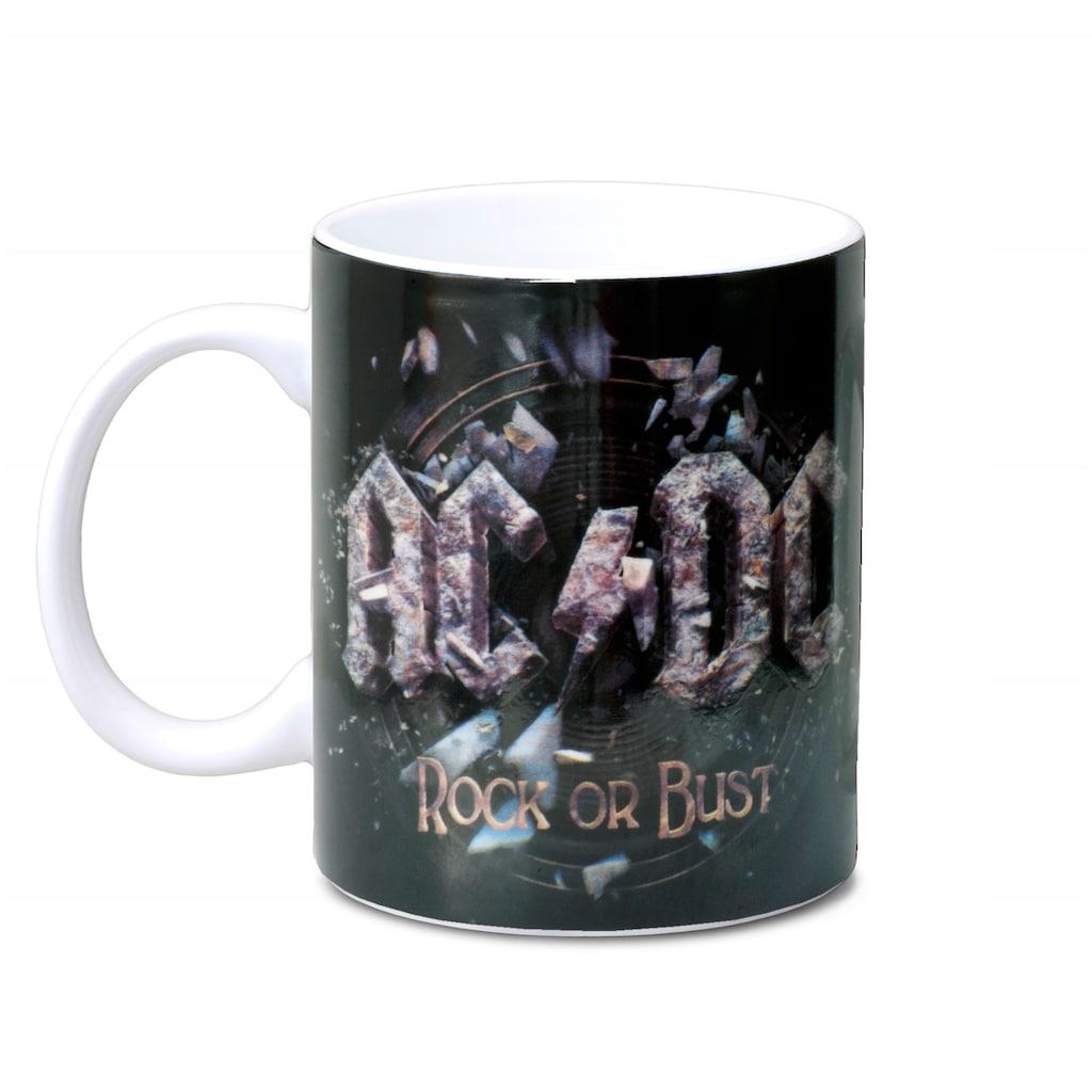 LOGOSHIRT Tasse mit tollem Band-Print