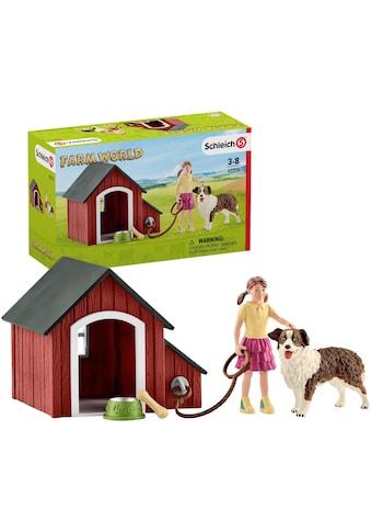 """Schleich® Spielfigur """"Farm World, Hundehütte (42376)"""" kaufen"""