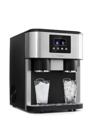 Klarstein Eiswürfelmaschine 2 Größen Crushed Eis »Eiszeit Crush« kaufen