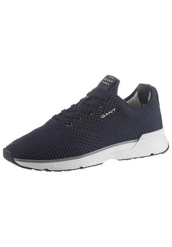 Gant Footwear Sneaker »BEEKER«, in angesagter Strickoptik kaufen