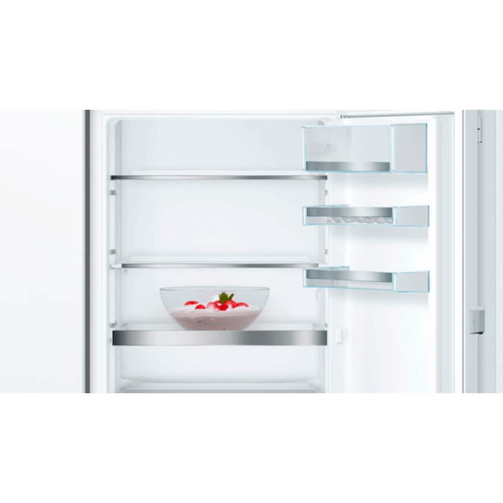 BOSCH Einbaukühlgefrierkombination »KIS77AFE0«