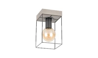 SPOT Light Deckenleuchte »GRETTER CONCRETE«, E27, Aus echtem Beton und Metall,... kaufen