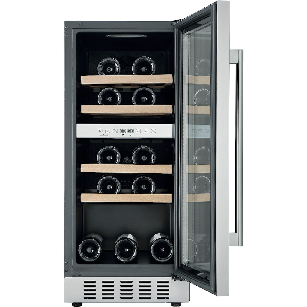 Hanseatic Weinkühlschrank »HWC31GCIA«, für 31 Standardflaschen á 075l, unterbaufähig