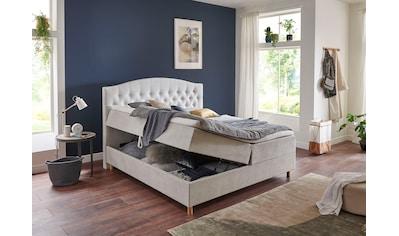 Home affaire Boxbett »Piemont«, mit Bettkasten und Topper kaufen