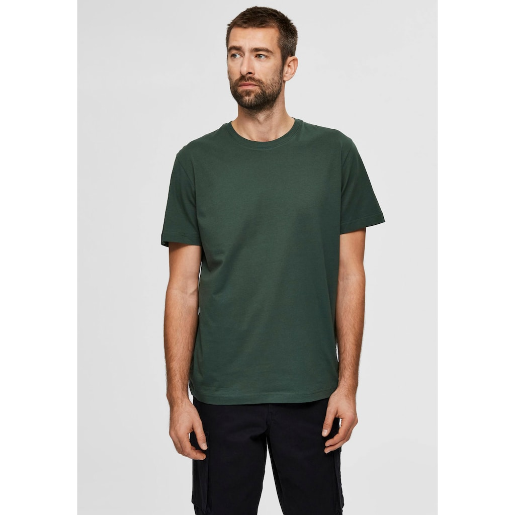 SELECTED HOMME T-Shirt »NORMAN O-NECK TEE«