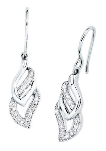 Amor Paar Ohrhaken »9963713«, mit Zirkonia kaufen