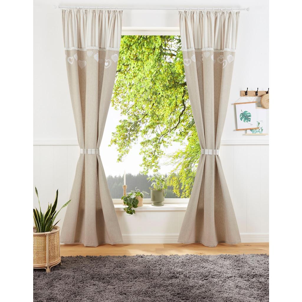 my home Vorhang »Merle«, inkl. Raffhalter