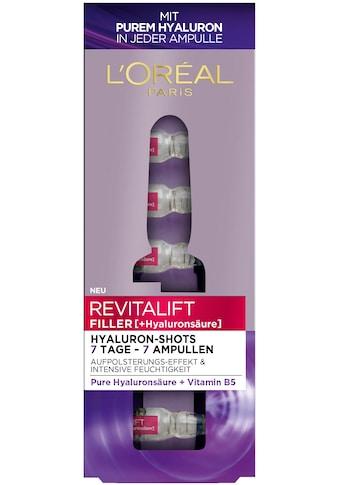 L'ORÉAL PARIS Gesichtsserum »Revitalift Filler Hyaluron-Shots«, (7 tlg.) kaufen